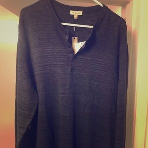 Calvin Klein Button up Sweater New Size XXL